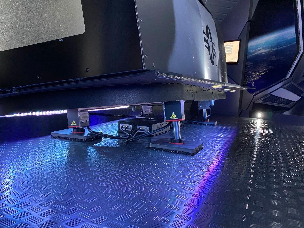 VR-JET flight simulator